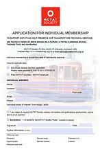 Placeholder Membership form