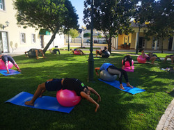 Aula de Pilates - Programa Recarga