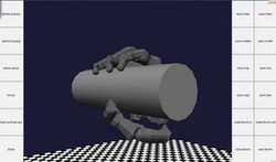 Cylindrical grasp