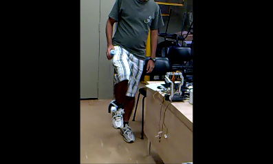 Kinect lowerlimb teleoperation
