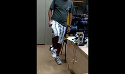 Kinect lowerlimb teleoperation