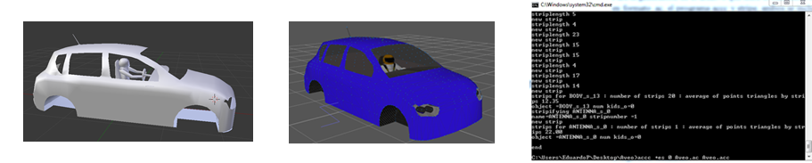 3D car Model and *.acc file