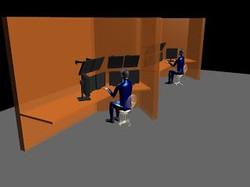 Ergonomics analysis of a room