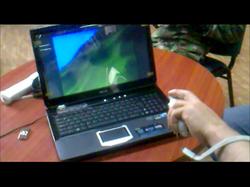 Wiimote hand interactions