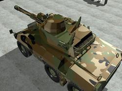 Tankd for motion simulation