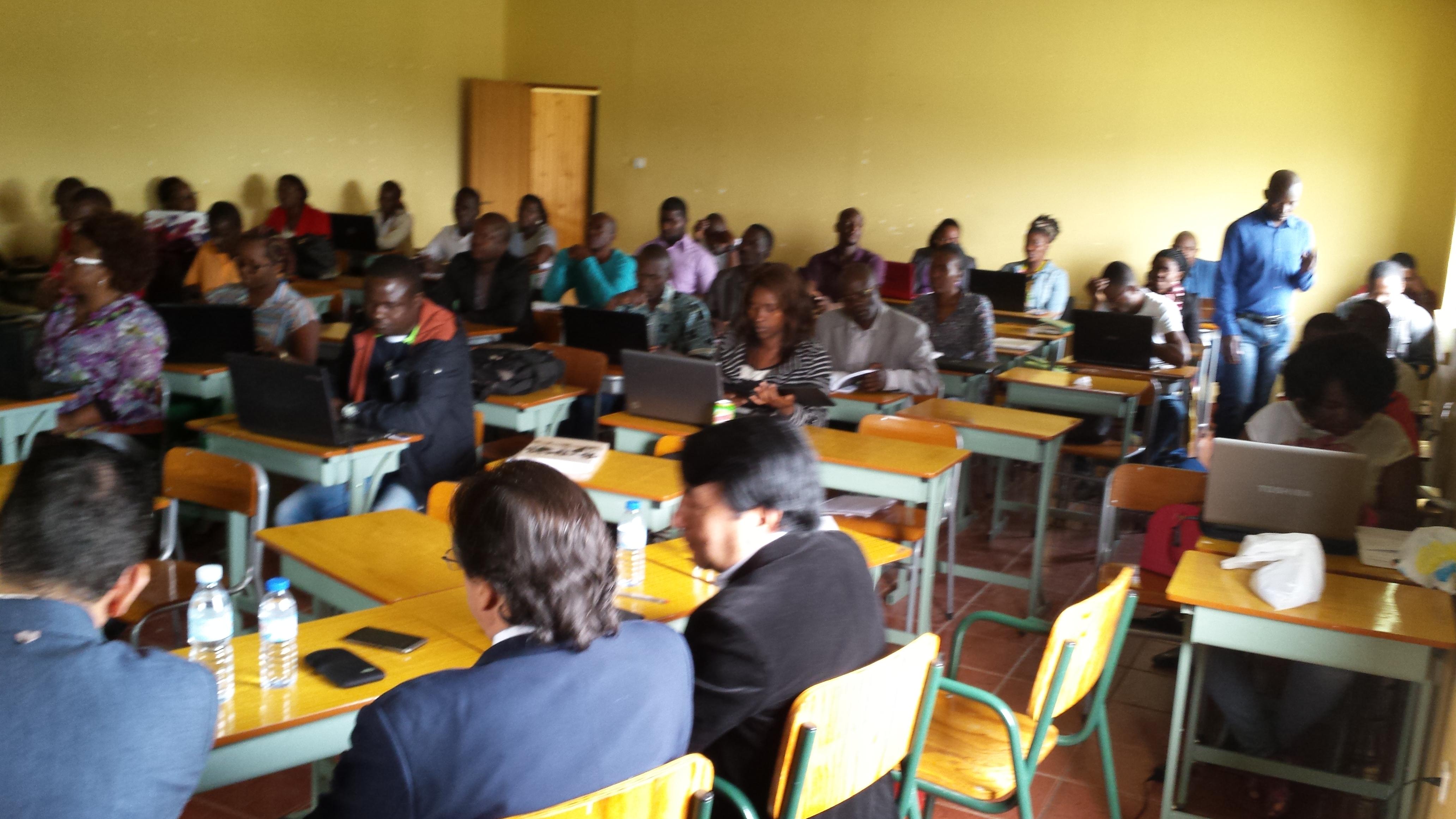 Cursos en Angola