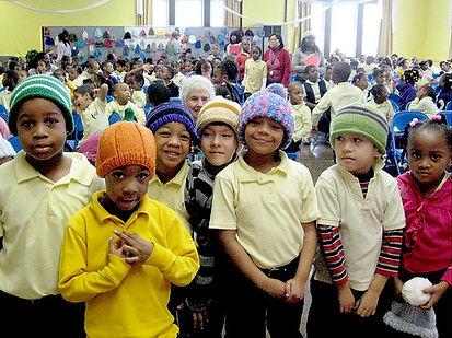 kids in hats