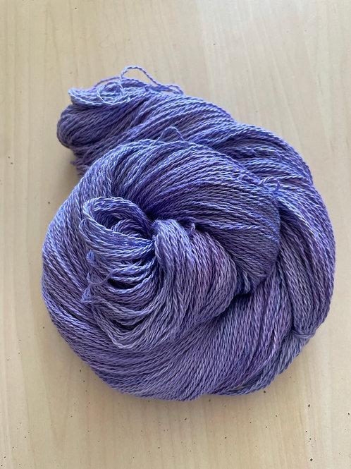 "Great Adirondack Yarn Co Organic Cotton Fingering ""Lavender"""