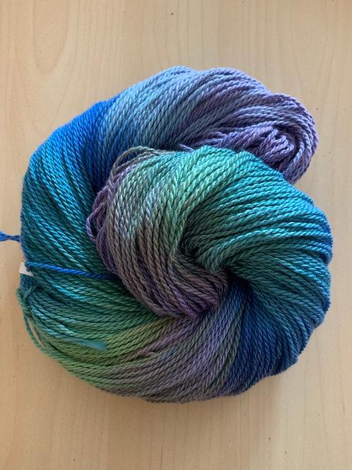 "Great Adirondack Yarn Co. Organic Cotton DK ""Nantucket Blue"""