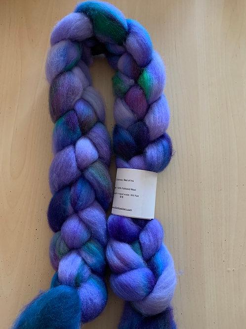 "Kim Dyes Yarn Falkland ""Bed of Iris"""