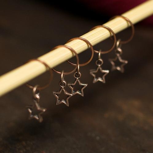 ADknits Star Stitch Markers