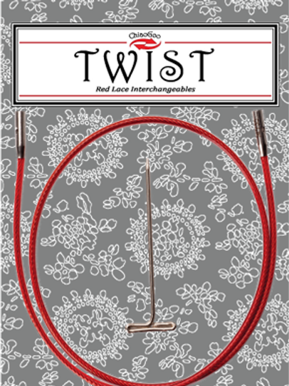 ChiaoGoo TWIST cables 8""
