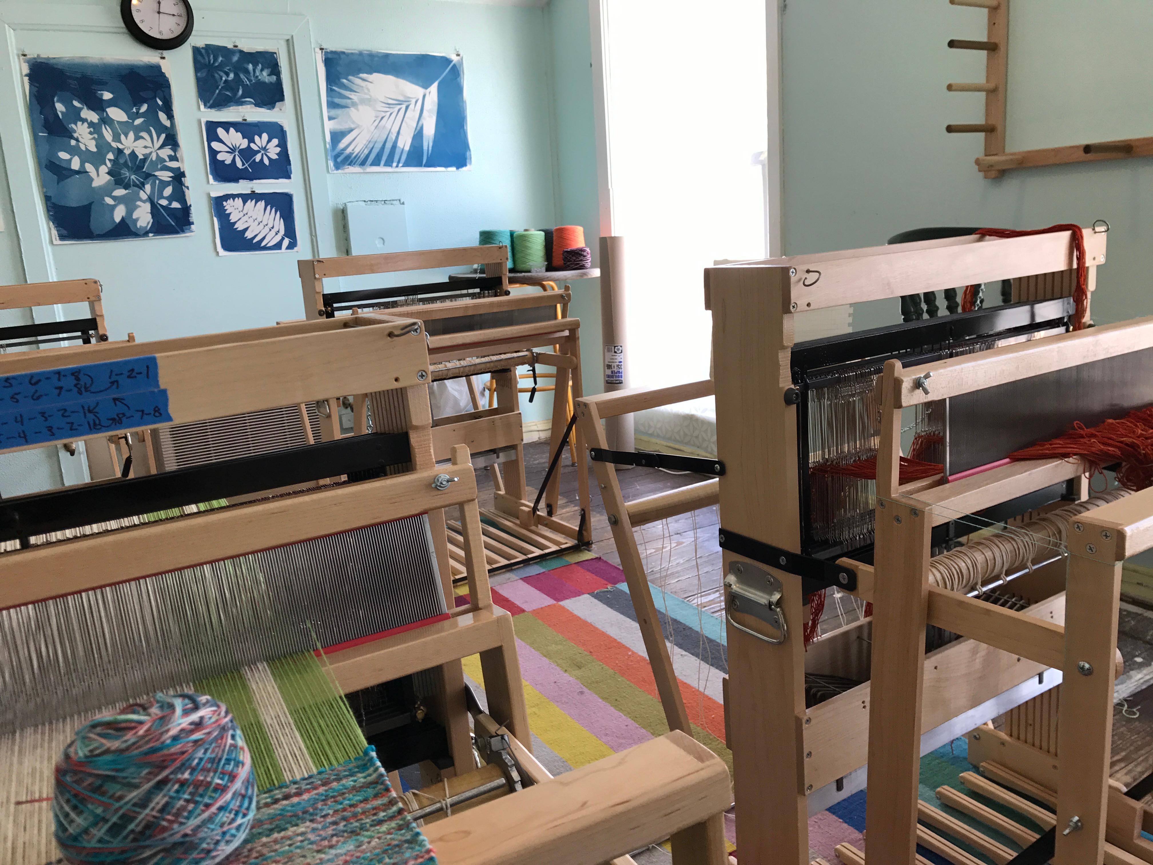 Floor Loom Weaving Workshop