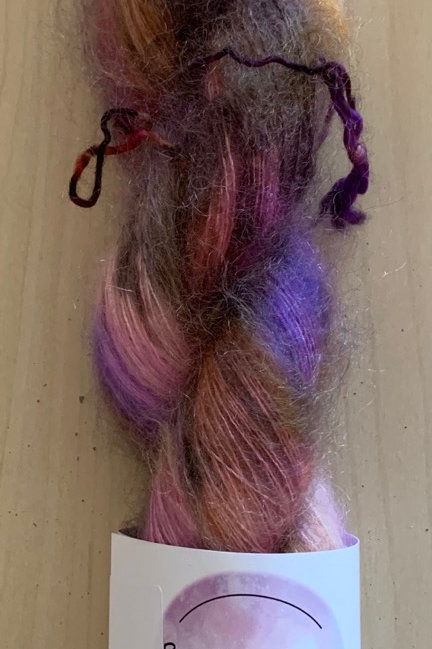 """Brediculous Mohair Lace """"Dawn on the Pier"""""""