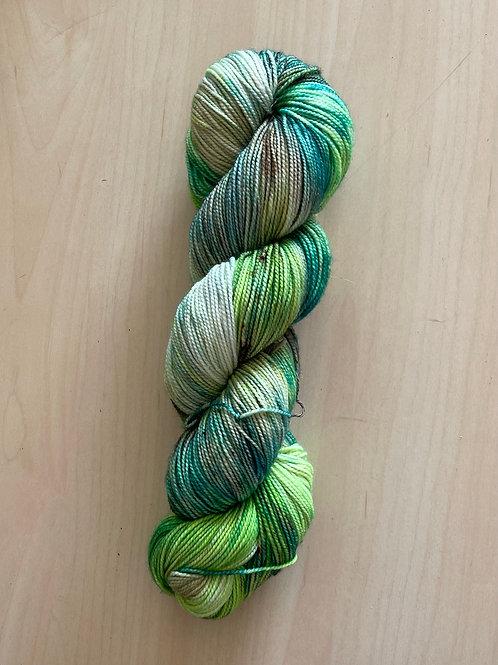 "ColorWae Fiber Arts Color Sock ""Lizard Lips"""