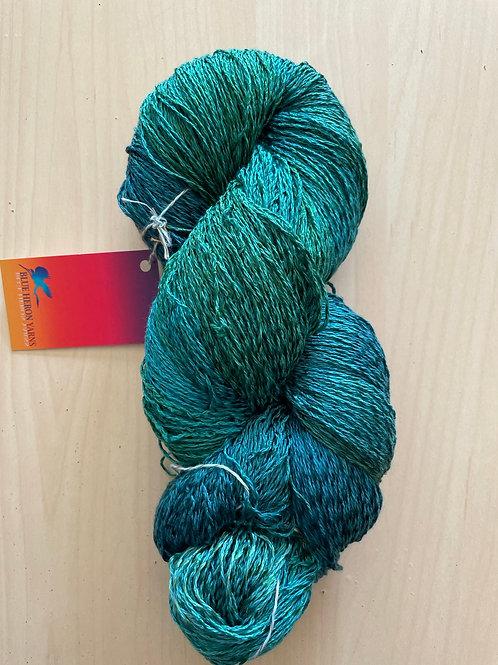 "Blue Heron Cotton/Rayon Twist Lace ""Bluegrass"""
