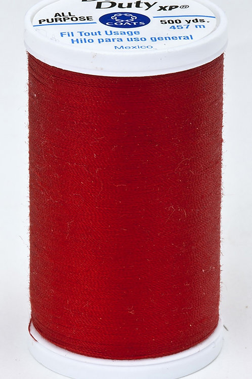 Dual Duty XP Polyester Thread 500yds Red