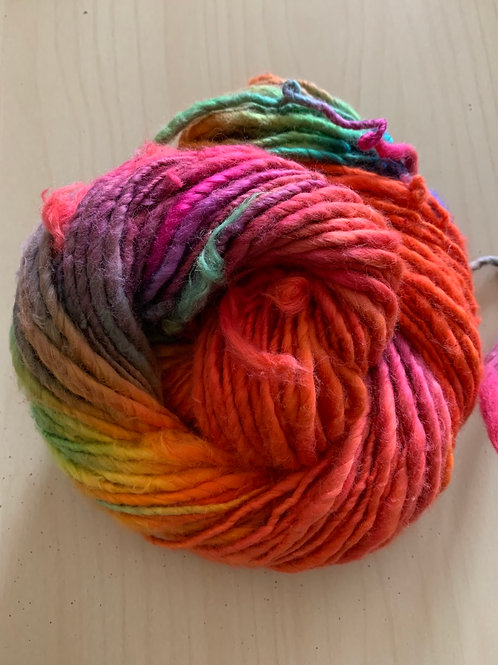 "Great Adirondack Yarn Co. Cotton Homespun ""Toucan"""