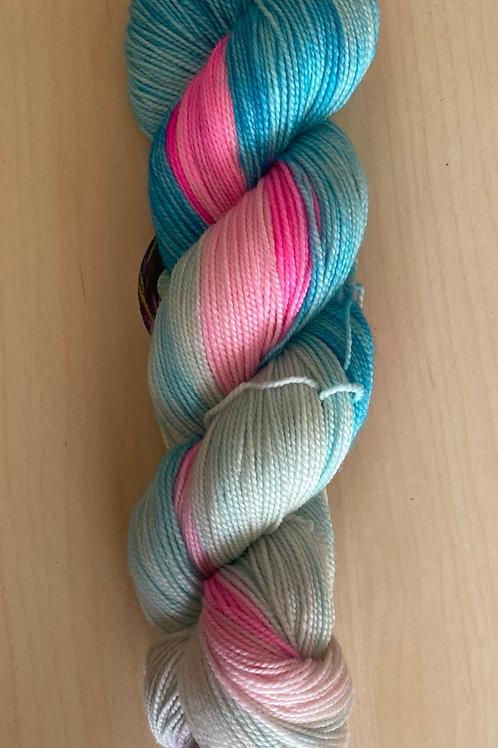 """ColorWae Fiber Arts Color Sock """"Transitions"""""""
