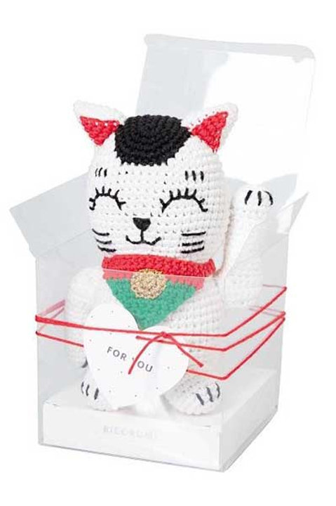 "Universal Yarns Ricorumi Kit ""Lucky Cat"""