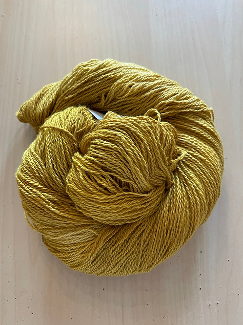 "Great Adirondack Yarn Co Organic Cotton Fingering ""Goldenrod"""