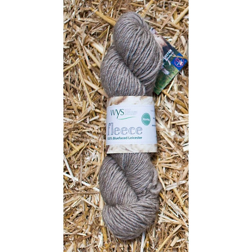 """West Yorkshire Spinners Fleece BFL Roving """"Light Brown"""""""