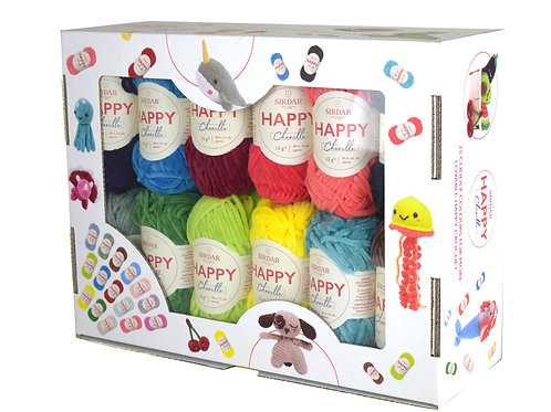 Sirdar Happy Chenille 25 Color Pack