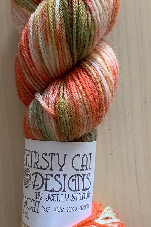 "Shirsty Cat Designs Sport BFL ""Leaf Peepers"""
