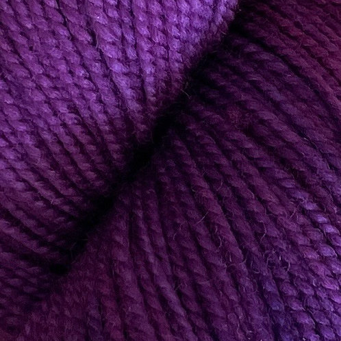 """Knitted Wit Fingering """"Thistle"""""""