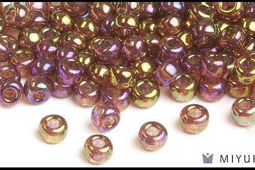 Miyuki 6/0 Glass Beads Rose Gold Luster