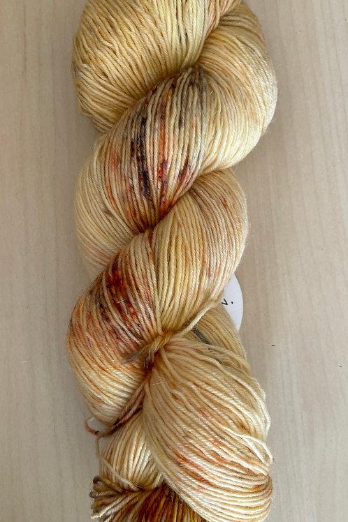 "ColorWae Fiber Arts Sturdy Sock ""Warm Glow"""