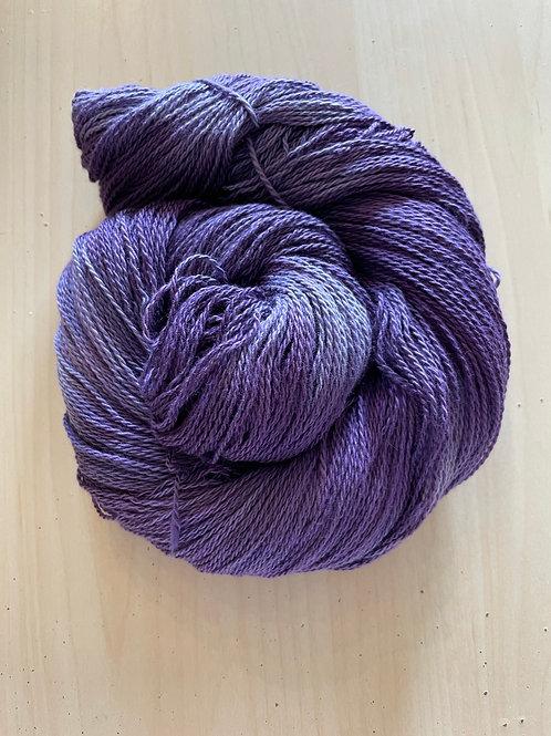 "Great Adirondack Yarn Co Organic Cotton Fingering ""Dutch Iris"""
