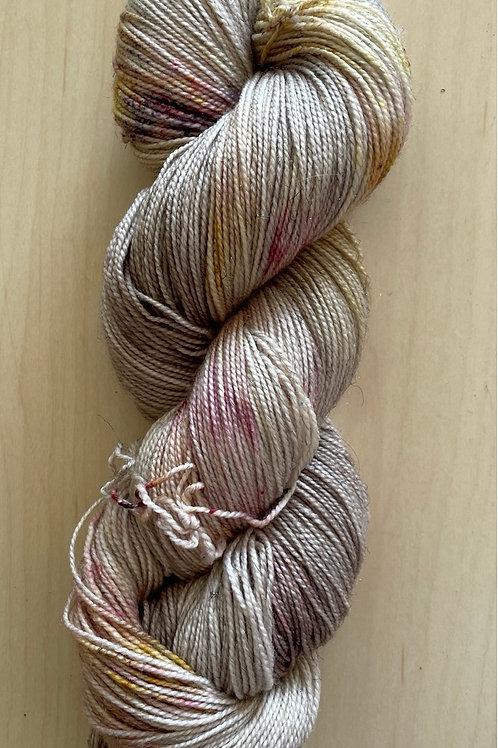 """ColorWae Fiber Arts Sparkle Sock """"Winter's Secret"""""""