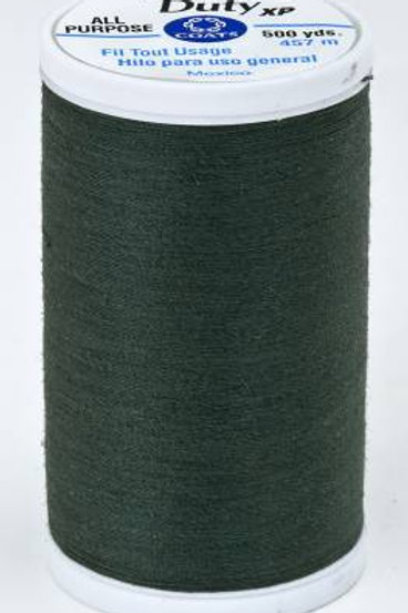 Dual Duty XP Polyester Thread 500yds Forest Green