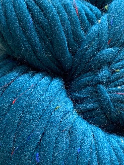 "Cascade Yarns Magnum Tweed ""Celestial Teal"" 01"