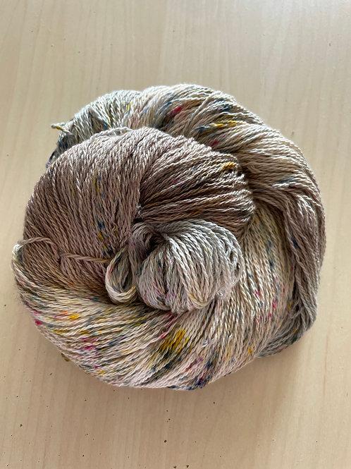 """Great Adirondack Yarn Co Organic Cotton Fingering """"Irish Cream"""""""