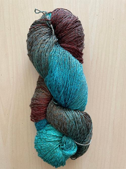 "Blue Heron Cotton/Rayon Twist Lace ""Turquoise"""