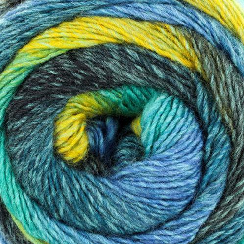 "Universal Yarns Colorburst ""Peacock"" 117"