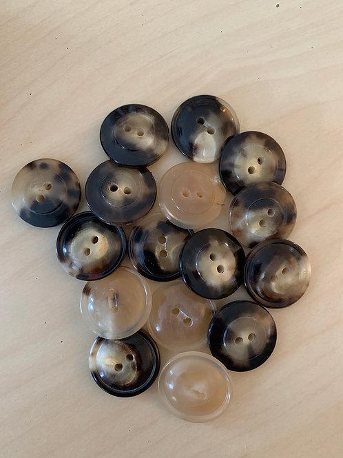 Medium Horn Buttons