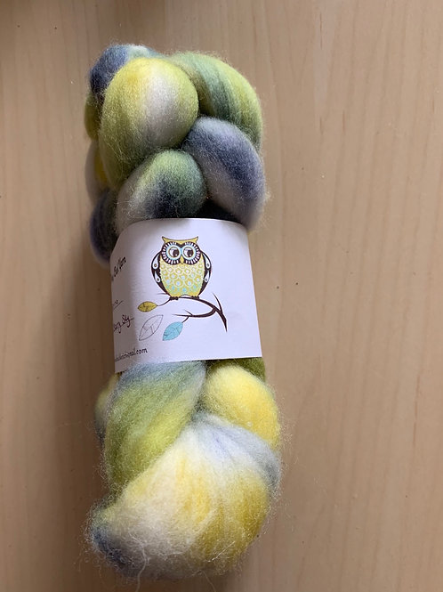 "Tiny Owl Yarn Merino ""Starry Sky"" 2oz"