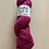 """Thumbnail: Knitted Wit Polworth Shimmer DK """"Madge"""""""