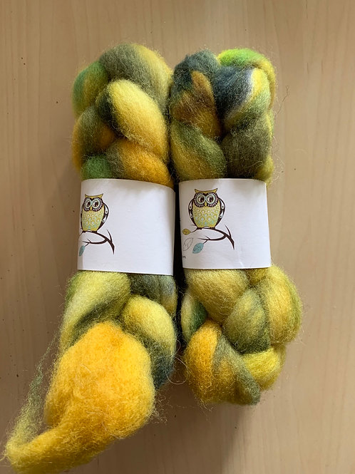 "Tiny Owl Yarn Finn Wool ""Dandelion"" 2oz"