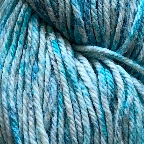 """Cascade Yarns Nifty Cotton Splash """"Blue N Green"""" 207"""