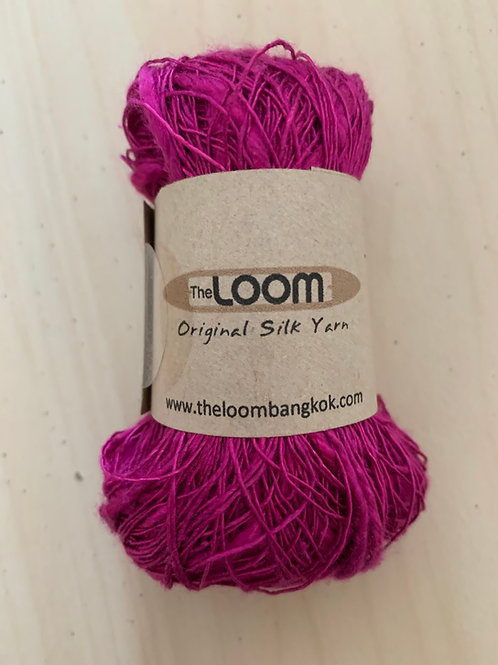 The Loom Risoni 100% Silk Pink Lemonade 05