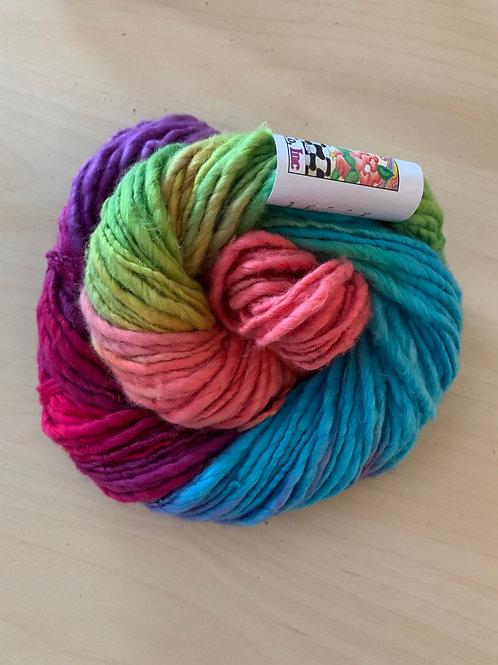 "Great Adirondack Yarn Co. Cotton Homespun ""Rainbow"""