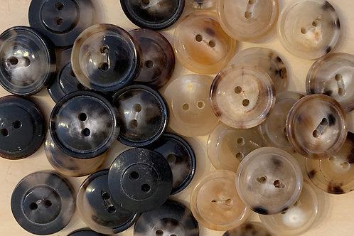 Small Horn Buttons