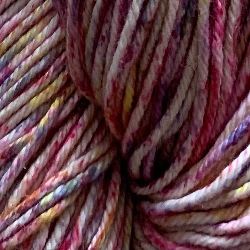 "Cascade Yarns Nifty Cotton Splash ""Petunia"" 212"