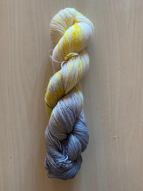 "Snallygaster Polaris Sock ""Storm Moon"""