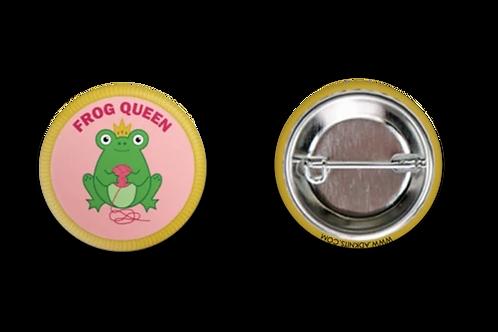 ADknits Frog Queen Purl Scouts Merit Badge