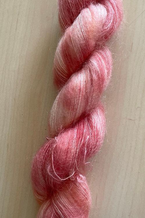 "ColorWae Fiber Arts Color Cloud Mohair ""Peachy Keen"""